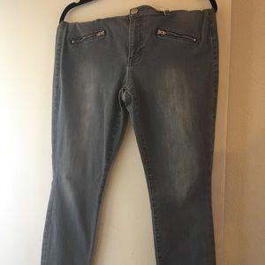 CAbi zip skinny jeans